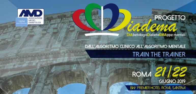 Diadema Roma giugno