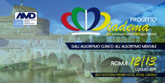 Progetto Diadema: Dall'algoritmo clinico all'algoritmo mentale – ROMA