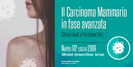 Il carcinoma mammario in fase avanzata – Clinical Audit of the Breast Unit – NAPOLI