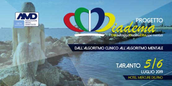 Progetto Diadema: Dall'algoritmo clinico all'algoritmo mentale – TARANTO